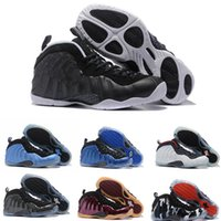 Wholesale Cultured Pearls Sales - Sale Air Basketball Shoes Sneakers Men Blue Man One Pro Sports Shoes Pearl Penny Hardaway Size:7-13