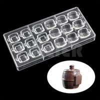 3D beer barrel shaped polycarbonate chocolate mold,creative candy pastry tools plastic fondant chocolate moulds cake baking tool