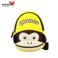 Wholesale Cheap Children Backpacks - Free shipping Popular cheap kids Traveling animal bags monkey chest bag one side cross bag for child