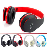 Wholesale High Fidelity Sound - High Fidelity Surround Sound Bluetooth Headphones Wireless Stereo Headsets Bluetooth3.0+EDR Headphone Music Headset With Mic 8252