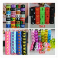 Wholesale slip mod resale online - Decorative and protection mod vape band silicone custom rubber vape rings ecig silicon vape band Non Slip Rubber Bands E Cigarette Mechanica