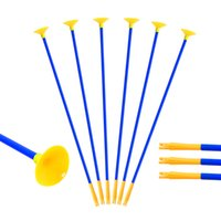 Wholesale Fun Shoots - Huntingdoor 23 Inch Youth Sucker Arrows Safe Shooting Hunting Replacement Suction Cup Arrows for Children Outdoor Garden Fun Game Toy Gift