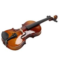 as picture case for violin - Hight quality Yilin violin Entry level violin with case rosin bow bridge for learners