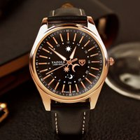 Montre pour hommes Montre de lune Star Star Luminous Waterproof Business Watch
