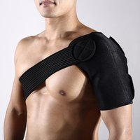 Wholesale 2017 Free adjustable shoulder bandage Breathable protection of shoulder items Avoid sport injury resilience F25