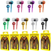 wholesale microphone jack wiring online - earphone zipper headset mm jack  bass earbuds in ear zip