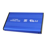 sata katı hal toptan satış-Toptan-2.5 Inç USB3.0 Alüminyum Alaşım Harici Sabit Disk Disk SATA Katı Hal HDD İletim Hızı 5 Gbps kadar