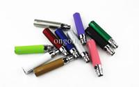 Wholesale Ego Batteries Colorful Designs - 2017 New 11colors OEM design eGo T Battery e cigarette colorful 650mah 900mah 1100mah Electronic Cigarettes Battery 10 Colors plastic pipe
