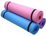 Wholesale Health Purple Colors - 3 Colors Fitness Equipments EVA Thick Yoga Mat Non-slip Yoga Mat Health Lose Weight Exercise Pad Yoga Mat Fitness Pad