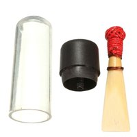 Wholesale Gifts For Music Lovers - wholesale Reeds+Plastic Handcrafted Natural Bassoon Reeds Suona Reed Hardness Medium Clarinet Gifts Trumpet Beating Reed For Music Lover
