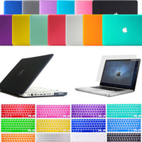 Wholesale Macbook Air 13 Keyboard Case - Laptop Lid Hard Rubberized Case + Keyboard Cover for Macbook Air Pro Retina 11