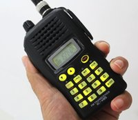 Wholesale Talkie 7w - 7W power VHF compact walkie talkie 85V up to 107 channels CTCSS DTCS IPX4 water resistant 144-148MHz radio transmitter receiver