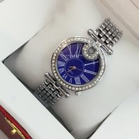 Wholesale Golden Party - Fashion brand golden watch with diamond women sexy rose gold silver luxury bracelet wristwatch free shipping party watches Relojes De Marca