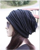 Wholesale Fashion Beanie Skull Caps Mens Womens Spring Fall Winter Wool Colors Knitted Ruffle Layers Plain Hats Caps