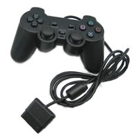 Wholesale Usb Controller For Ps2 - USB PS2 Wired Game Controller Gamepad Joystick Console vibration double shock For Windows PC PlayStation 2