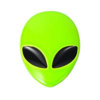 Wholesale Door Factory - Aliens UFO 3D Metal Car Sticker Auto Truck Motorcycle Emblem Badge Factory Free Dropshipping 10pcs lot