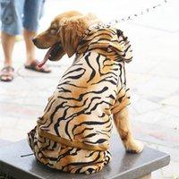 köpek kostüm çocuğu toptan satış-Köpek Giysileri Pet Ceket Kaban Hoodies Köpek Tulum Kostümleri Büyük Köpek Giysileri Komik Kedi Giyim Büyük Boy Pet Giyim 21
