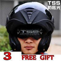 Wholesale Dual Visor Helmets - Wholesale- free shipping 10 Colors Dual Visor Modular Flip Up helmet motorcycle helmet racing Motorcross helmet DOT approved Size S M L XL