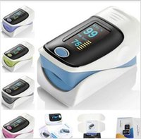 Wholesale Hot selling New Fingertip Pulse Oximeter SPO2 Pulse Rate Oxygen Monitor for household health Measuring