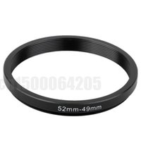 Wholesale Lens Cap 49 - Wholesale- 10pcs 52-49MM 52MM - 49MM 52 to 49 Step up Down Filter Ring adapters , LENS, LENS hood, LENS CAP, and more...