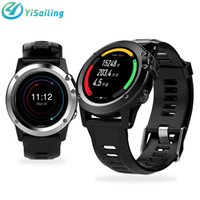 Wholesale 3g Network Cameras Outdoor - YiSailing H1 Android Smart watch GPS navigation SIM 3G network Altitude air pressure WIFI waterproof 5MP Camera Heart Rate Smartwatch