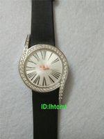 Wholesale Guanqin Watch Ladies - New fashion ladies clothing watch luxury brand GUANQIN waterproof quartz watch black belt fashion watch reloj mujer relogio feminino