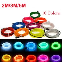 3M Neon Light Party Party Decor Light Neon Lampe LED Flexible EL Wire Rope Tube Waterproof LED Neon Sign Strip