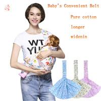 tirantes de mochila al por mayor-Alta calidad Pure Cotton Baby Sling Portabebés Baby Backpack Carrier / Baby Suspenders Buena protección