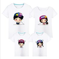 Wholesale new T shirt Parent child photography clothing summer Family Matching Outfits Couple clothing cotton T shirt