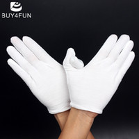 For Saxophone as pic Gloves Wholesale- Hot Sale Musical Instrument White Performance Gloves for Saxophone Trumpet Flute Clarinet Marching Bands
