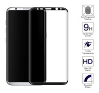 Wholesale Glass Galaxy S - For Samsung S8 Glass For Galaxy S8 Plus Tempered Glass For Samsung Galaxy S8 Screen Protector Film 3D Full Cover S 8 Glass
