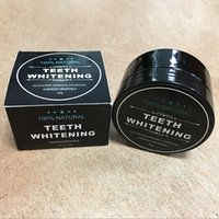 Wholesale Organic Package - 2017 New Package Tooth Whitening Powder Activated Organic Charcoal Stain Remover Tooth Cleaning Oral Hygiene Free shiping by DHL