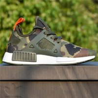 Wholesale Camo Golf Shoes - NMD XR1 Adidas 2017 New Best Wholesale Cheap Black Friday Duck Camo olive BA7232 Sneakers Men White Duck Camo Footwear Women Running Shoes