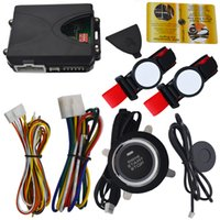 RFID Auto Alarmanlage mit 2pcs Transponder Handgelenk Band und Auto Motor Start Stop Button