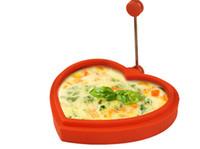 белый пластиковый держатель для яиц оптовых-Силиконовые яйцо кольцо формы с ручками из нержавеющей стали сделать жареные яйца блины бургер пирожки яйцо кольца на завтрак
