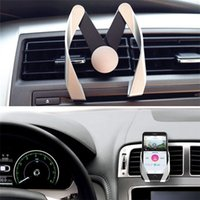 Wholesale M Brackets - M Model Holder Universal Adjustable Holders Air Vent Mount Support Phone Bracket Stand In Car Phone For iPhone 8 Samsung note 8 New