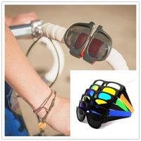 Wholesale Wholesale Clear Resin Bracelets - Sports Sunglasses Circle Bracelet Folding Sunglasses Driving Magnet Link Glasses Convenient To Carry New Trend Of Fashion DHL Free