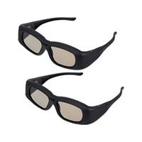 ingrosso vetri 3d attivo samsung-All'ingrosso 2 X universale occhiali 3D Active Shutter (Bluetooth) per Sony // Sharp / Toshiba / Mitsubishi / Samsung 3DTV