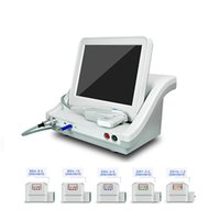 Wholesale Ultrasound Facial Rejuvenation - HIFU Ultrasonic Facial Beauty Machine Face Body Lifting Skin Tightening with Cartridges High Intensity Focused Ultrasound Therapy