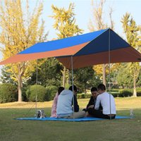 Wholesale Outdoor Canopies Wholesale - Autumn Outdoor Canopy Camping Tent 8-10 Person UV Protection Waterproof Sunshade Tents Large Size Wall Art Lightweight Hand Build Canopy