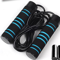 Wholesale High Quality Jump Rope - New Speed Jump Rope Cardio Strength Agility Training Adjustable Removable Weight Weighted Fitness Supplies Black High Quality Hot Sales