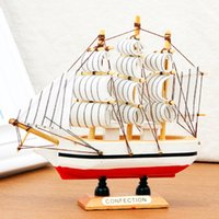 Wholesale Christmas Ornaments For Garden - Eagle Model Ship Christmas Tree Ornament Nautical Christmas Tree Decoration Nautical Christmas Tree Decoration For Home Garden Decor
