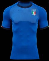 Wholesale Italy Home - 2017 2018 ITALY soccer Jerseys WORLD CUP national team home blue CANDREVA CHIELLINI EL SHAARAWY BONUCCI INSIGNE BERNARDESCHI FOOTBALL SHIRTS