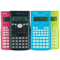Wholesale Functional mathematics tool Digital Scientific calculator Colored Stationery office accessories material School supplies