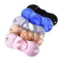 Wholesale Axis Rotation - 2017 Fidge Spinners Aluminum alloy Hand Spinner 5Colors Torqbar Ceramic Bearing axis EDC Finger Tip Rotation anxiety Toy DHL OTH349