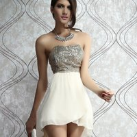 Wholesale Casual Dress Tail - In Europe and the United States sexy ladies club sequins strapless dress plus-size dress veil over the tail
