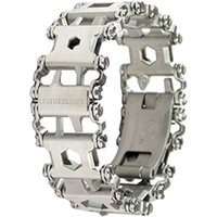 Wholesale mountaineering wear - Leatherman Tread Bracelet Travel Friendly Wearable Multitool Creative Fashion Tools Bracelet Wearing Equipment Outdoor EDC Tools