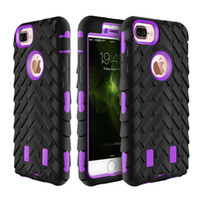 Wholesale Defender Iphone5 - Defend Robot Back cover For Iphone5 6 7 Rugged Armor Case Robot 3 in 1 Defender Rugged hybrid Cases for iphone6 7 plus