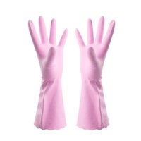 Wholesale Laundry Appliances - 2017 new Household cleaning daily labor laundry washing durable PVC waterproof latex gloves S M L