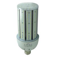 Wholesale Led Flood E27 - 175w mercury vapor replacement LED 50W Corn Cob Bulb Retrofit Outdoor Securiy Flood Lights E39 Mogul Base 5000K Daylight Barn Light